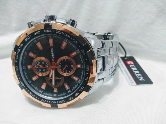 Relógios Curren Masculino Luxo