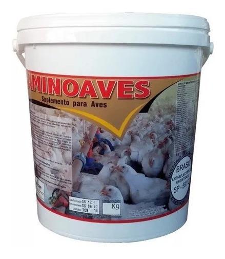 Aminoaves 10 Kg Núcleo P/ Misturar Ração Suplemento Agrocave