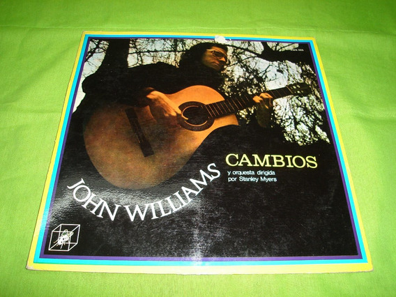 Vinilo Disco John Williams Cambios Lp Argentina 1973