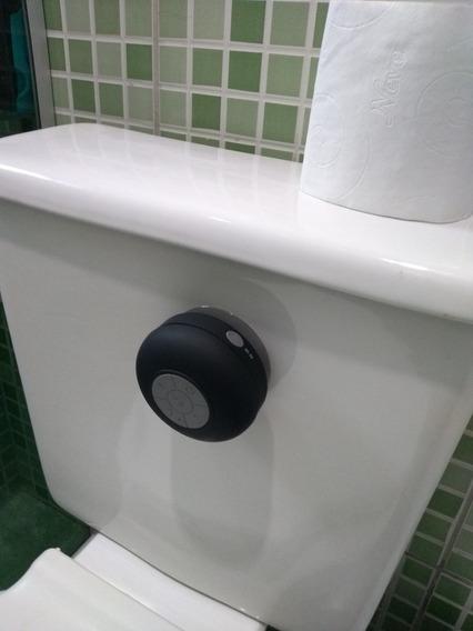 Caixa De Som Para Banheiro Bluetooth A Prova D