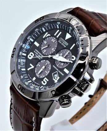 Reloj Citizen Ecodrive Atómico Piel Bi5250 - 021