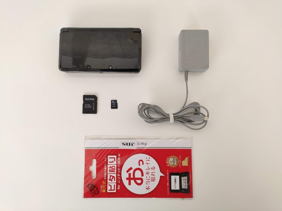 Nintendo 3ds Cosmo Black + Jogos + Garantia + Brinde