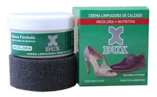 Crema Limpiadora Dux Para Calzado De Cuero