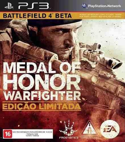 Jogo Medal Of Honor Warfighter Battlefiel - Ps3