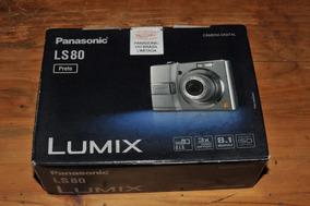 Câmera Panasonic Dmc-ls80 Lb-k Em Ótimo Estado Na Caixa