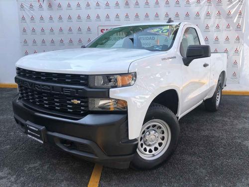 Imagen 1 de 15 de Chevrolet Silverado 2020 2p 1500 Wt Cr 4x2 A