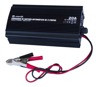Cargador De Batería Inteligente Automático 12v 20a - Enertik