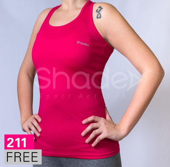 Musculosa Lycra Con Lazo Mujer 211 Free Shade 10% Hot Sale