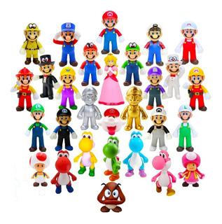 Super Mario Bros Figuras 13 Cm C/u