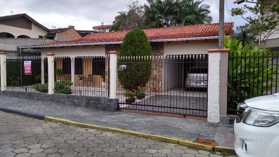 Casa Com 3 Dormitórios À Venda, 186 M² Por R$ 550.000,00 - Escola Agrícola - Blumenau/sc - Ca0376