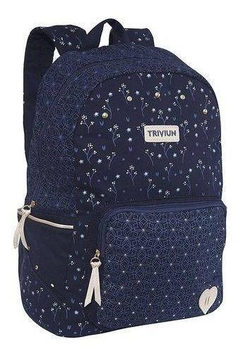 Mochila Notebook 13075 Triviun Azul Marinho