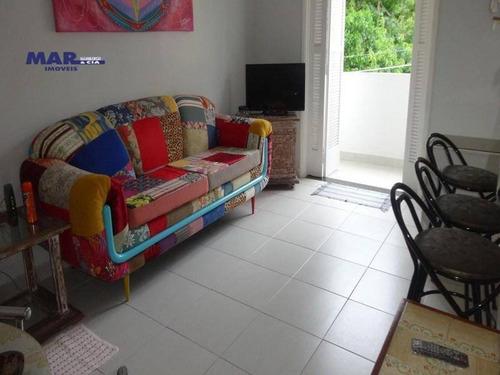 Imagem 1 de 6 de Apartamento Residencial À Venda, Vila Alzira, Guarujá - . - Ap7151