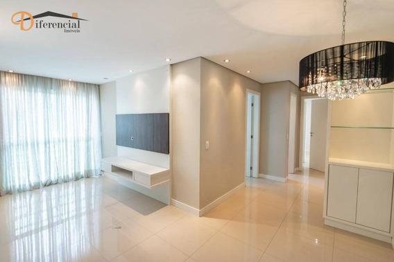 Apartamento Com 2 Dormitórios À Venda, 65 M² Por R$ 390.000 - Vila Izabel - Curitiba/pr - Ap2429