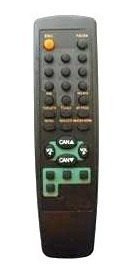 Control Remoto 2481 Rc41 Para Tv Crown Mustang Y Compatibles