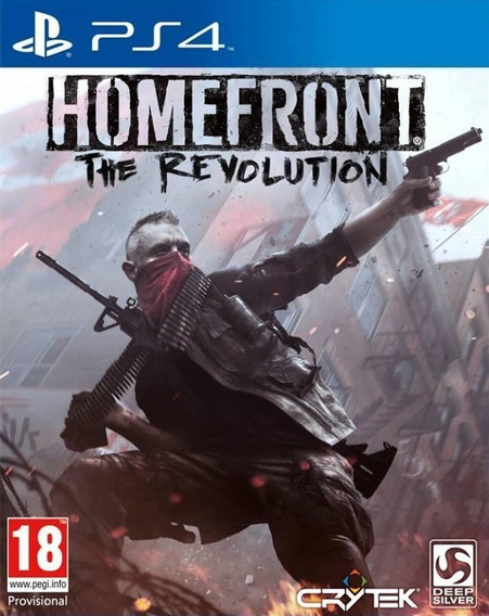 Jogo Homefront The Revolution Playstation 4 Ps4 Mídia Física