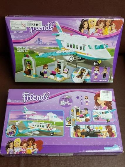 Lego Yayo Toys 10545 Friends Set Aeropuerto 236 Pz. 22 Vrds.
