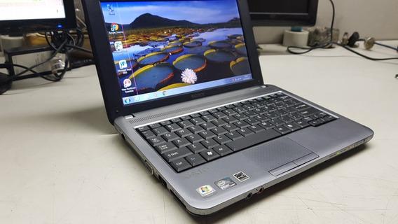 Netbook Sony Vaio Vpcm120ab 2gb Hd 320gb Bat Boa Listra Tela