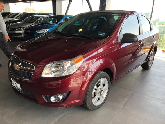 Chevrolet Aveo Ltz 2017 Paquete Y Automático