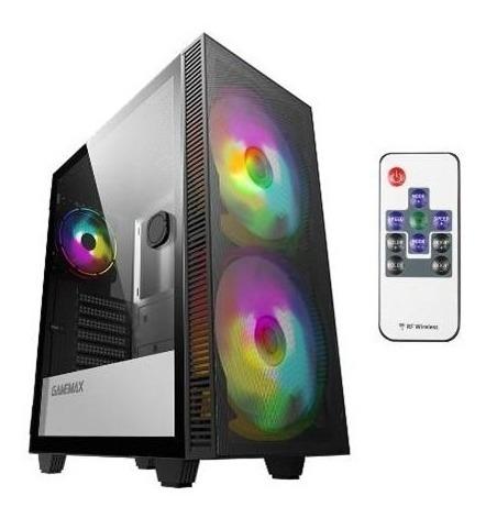 Case Myo Gaming X100, 2 2ventiladores Del Arco Iris Argb