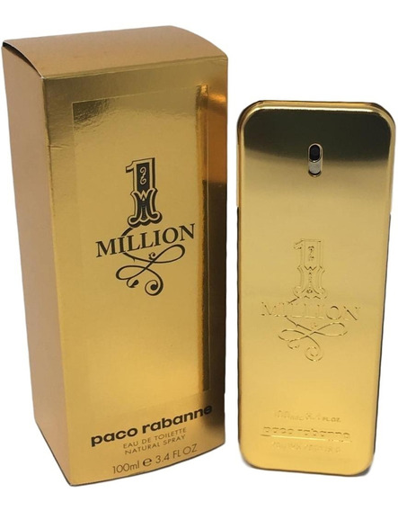 Perfume One Million Edt. 100ml - 100% Original + Amostra