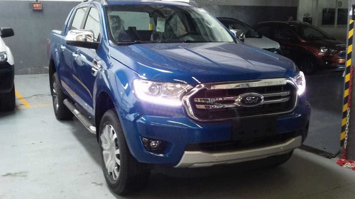 Ford Ranger Diesel 3.2l Cd 4x4 Limited At 0km Azul Aurora