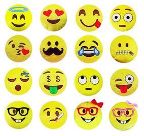 Emoji De Pelúcia Das Carinhas Whatsapp Almofada -1 Unidade