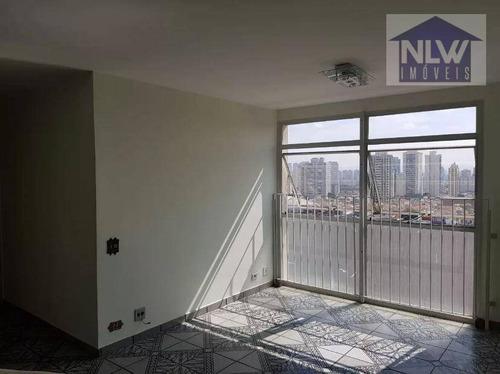 Apartamento Com 3 Dormitórios À Venda, 92 M² Por R$ 400.000,00 - Mooca - São Paulo/sp - Ap1363