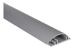 Canaleta De Aluminio Para Piso Ducto Cable Steren 370-600