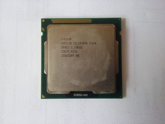 Processador Intel Celeron G540 2,50ghz Lga 1155 - 1907