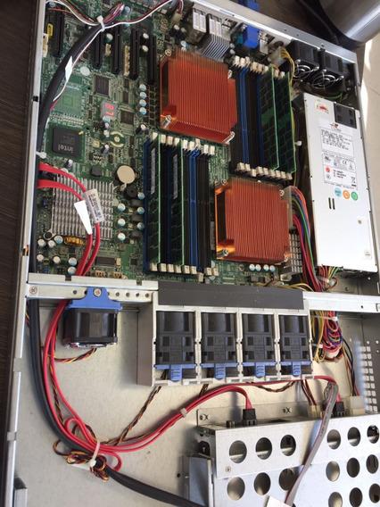 Servidor Com 2 Processadores Xeon X5500 E 16gb De Ram Ddr3