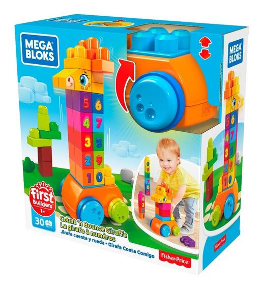 Mega Bloks Jirafa De Bloques 123