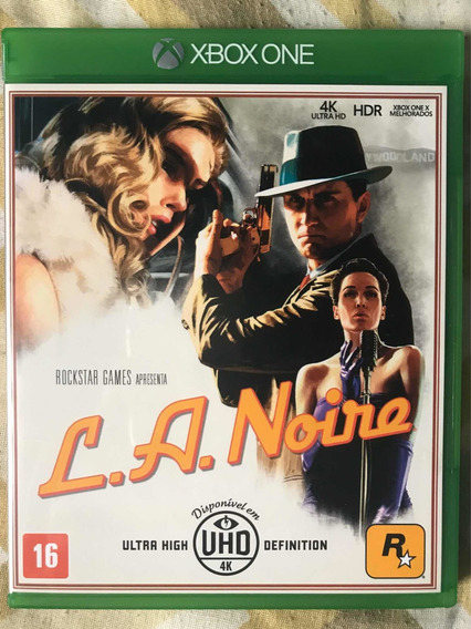 La Noire Xbox One Mídia Física