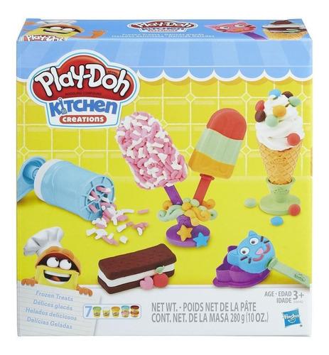Play-doh Helados Deliciosos Plastilina Original Entrega Inm.