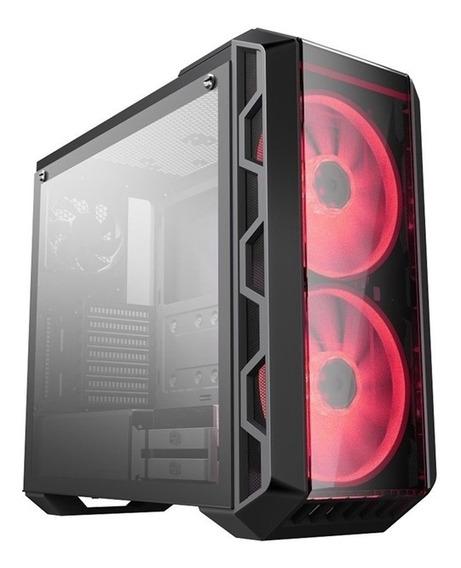 Gabinete Pc Gamer Atx Cooler Master Led Mastercase H500