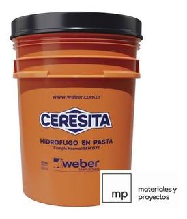 Aditivo Hidrófugo De Morteros Weber 1 Kg Ceresita