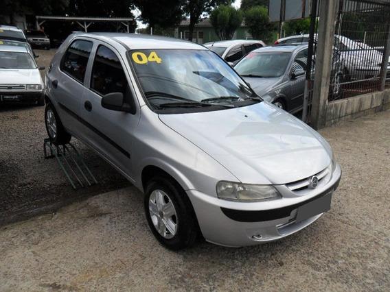 Chevrolet Celta 1.0 Mpfi 8v Gasolina 2004 Prateado.