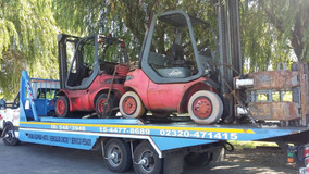 Autoelevador Diesel Toyota Linde H40,4000kg C/clamp O Uñas