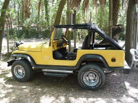 Jeep 4x4 Full Tipo Renegade Cj6 - Armado Artesanal