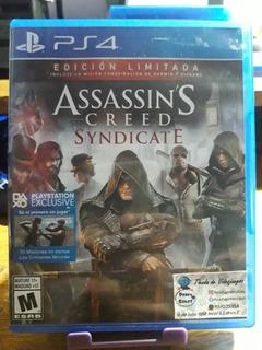 Assassins Creed Sindicate Ps4 Juegos Fisicos Usados