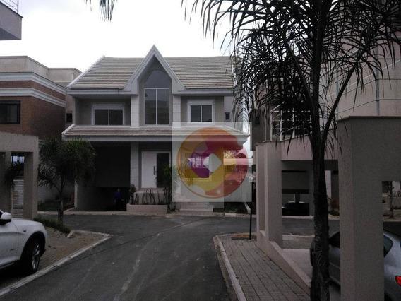Sobrado Com 4 Dormitórios Para Alugar/vender, 264 M² Por R$ 5.000/mês Ou R$ 977.800,00, Campo Comprido - Curitiba/pr - So0083