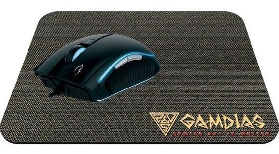 Kit Mouse Gamer Gamdias Zeus E1a C/ Mousepad Nyx E1 3200dpi