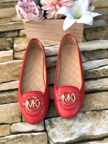 Flats Michael Kors 6.5 Mex Nuevos Originales Rojos