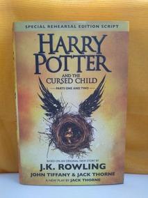 Harry Potter E A Criança Amaldiçoada (capa Dura) - Importado