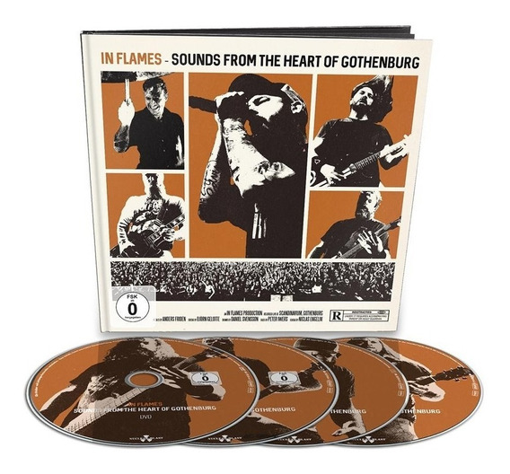 Box In Flames - Sounds From The Heart (blu-ray + Dvd + 2 Cds