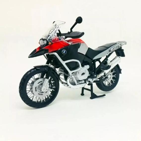 Miniatura Moto Bmw R1200gs 1:12 Maisto Frete Grátis