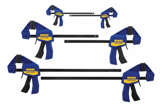 Irwinquick-gripone-handed Mini Bar Clamp 6 Pack, (2) 4-1/4 ,