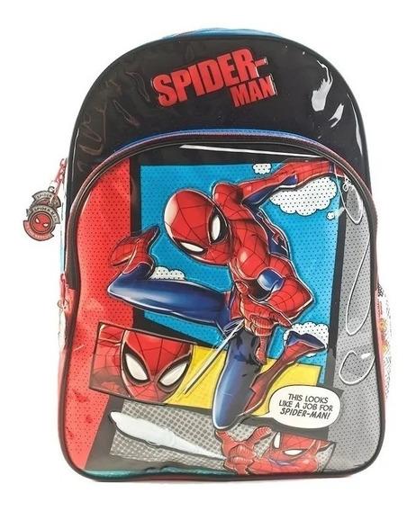 Mochila De Espalda Spider Man 16 Pulgadas Hombre Araña