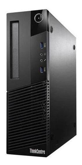 Cpu Desktop Lenovo M93p I7 3.6 4º Ger 8gb Ram 500gb Hd