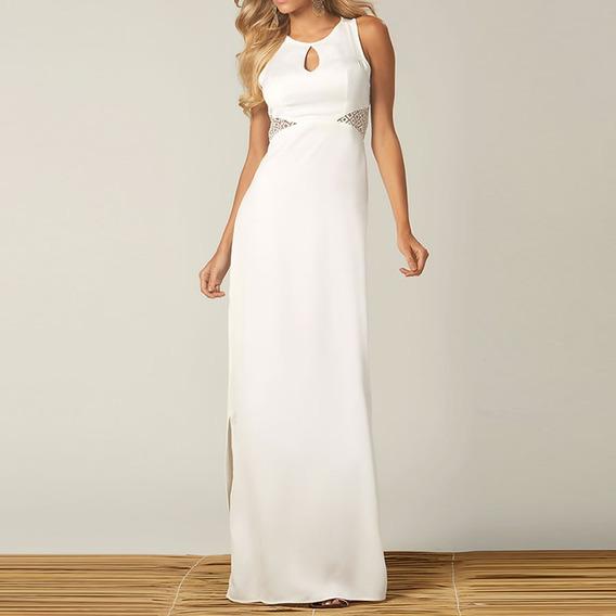 Vestido Recorte Organza | Outletdafe