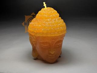Velas Artesanales Cabeza De Buda